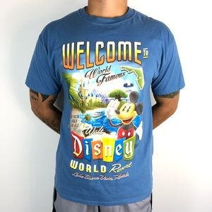 Walt Disney World Disneyland Resort Mickey T-Shirt